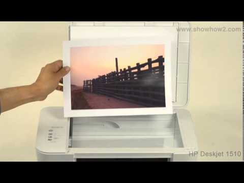 how to scan a document on hp printer