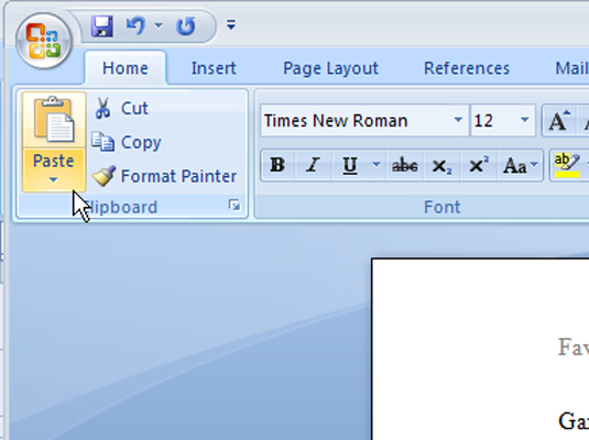 how to duplicate a document on word