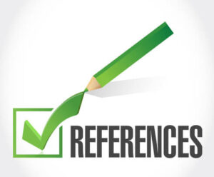 where are reference marks located in a document