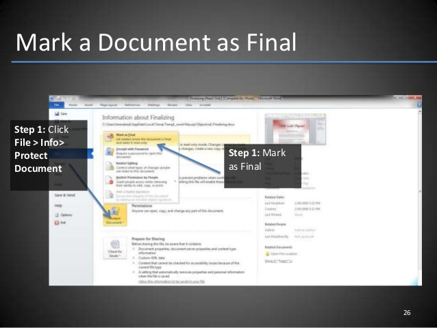 delete word document recovery option