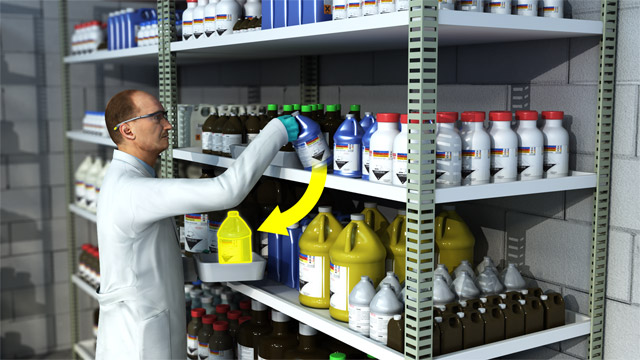 what document should be used for hazardous substances or chemicals