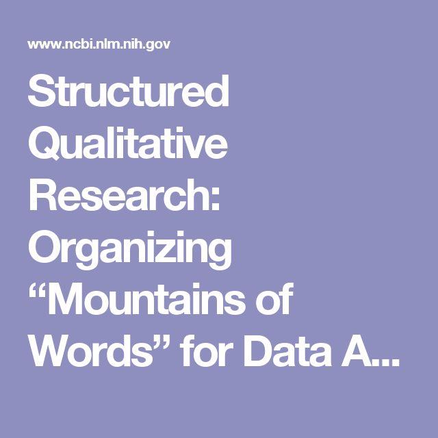 document analysis as a qualitative research method bowen