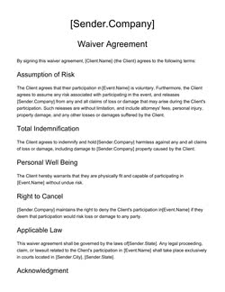 legal document terms of use agreement