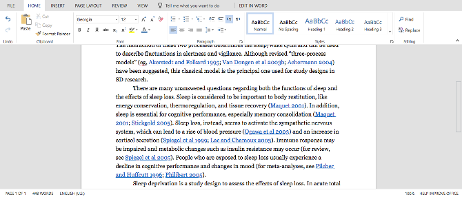 how to create a word document without indented paragraphs