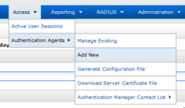rsa access manager documentation