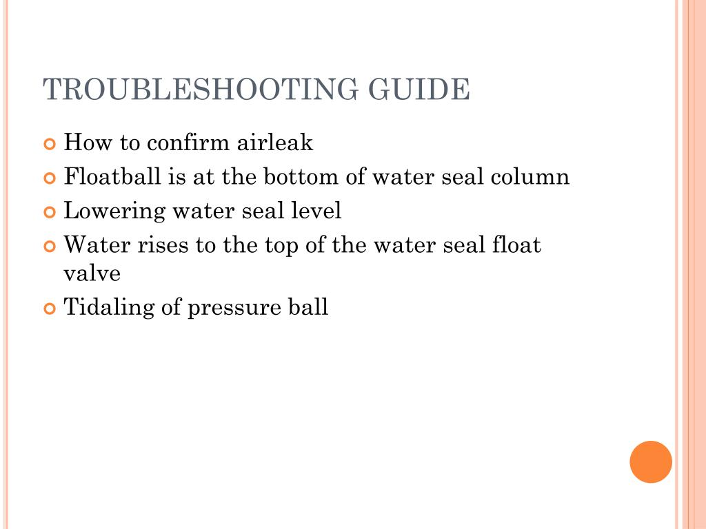 bubbling and swinging chest drain documentation
