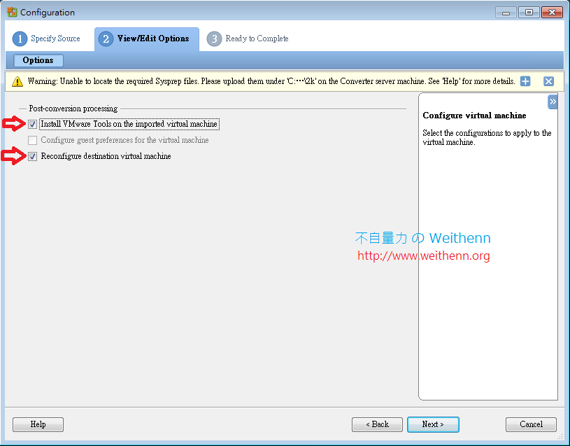 vmware converter standalone documentation