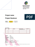website project documentation format