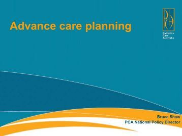where to document advanced care planning document