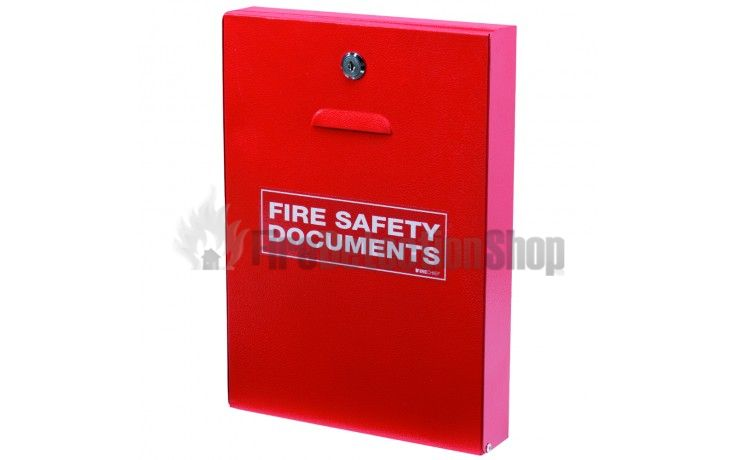 metal fire safety document holders