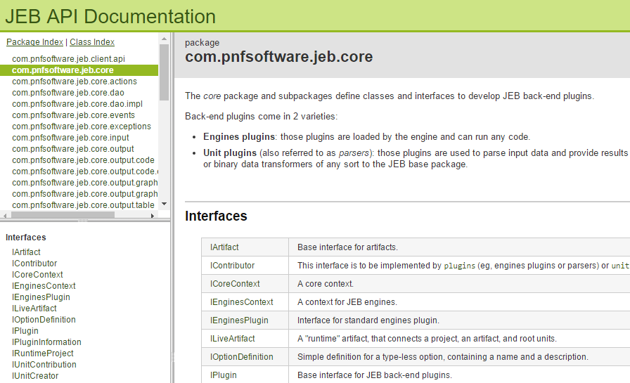 java api documentation offline