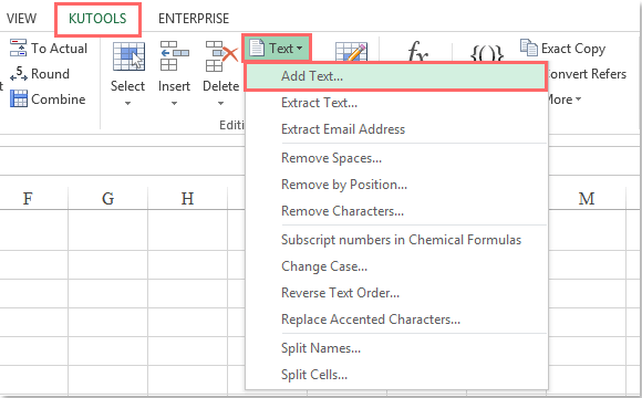 add a word document to excel