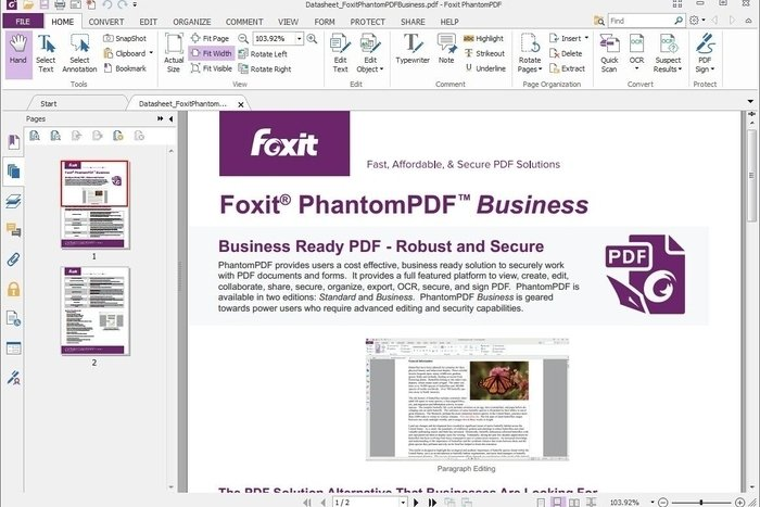 adding photos to pdf document foxit