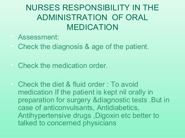 administration of medication documentation by enrolled nurse
