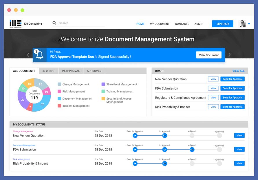agilepoint document management case studies