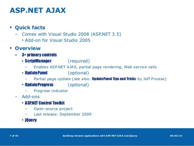 ajax control toolkit documentation