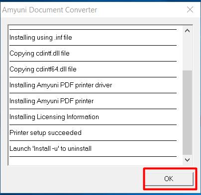 amyuni document converter 500 driver windows 10