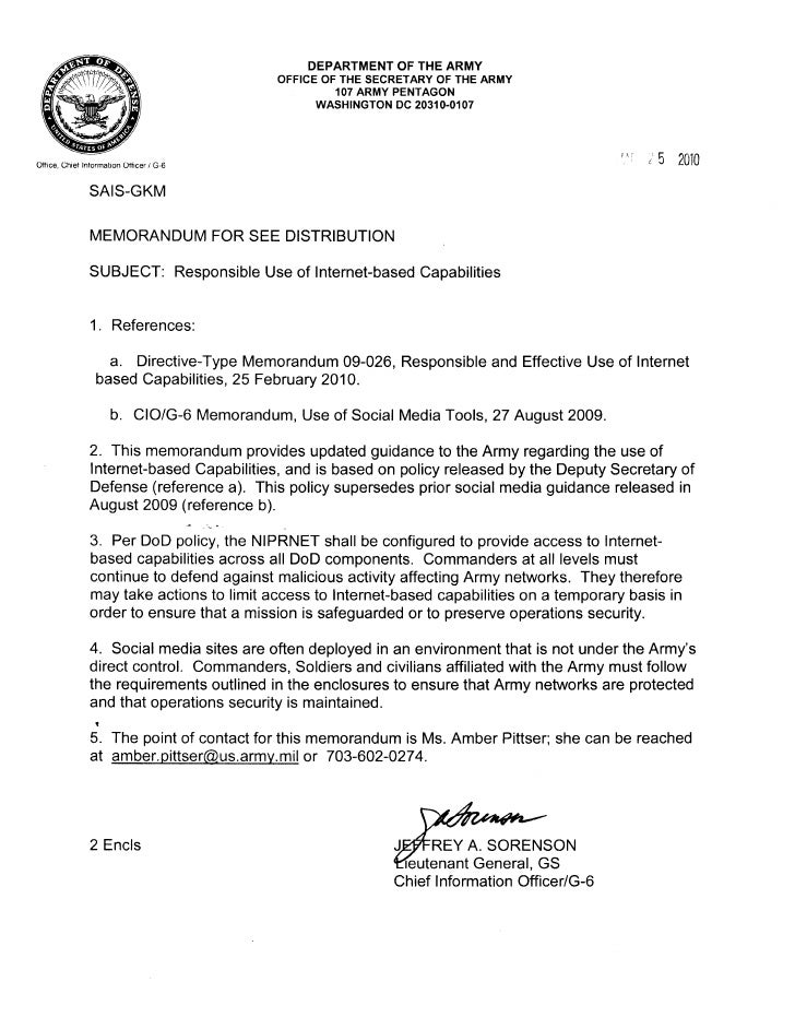 army deployment orders word document
