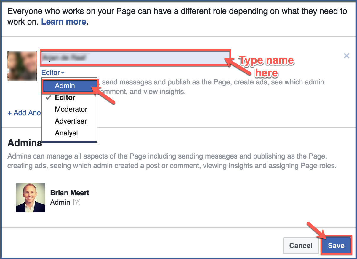 attach document to facebook page