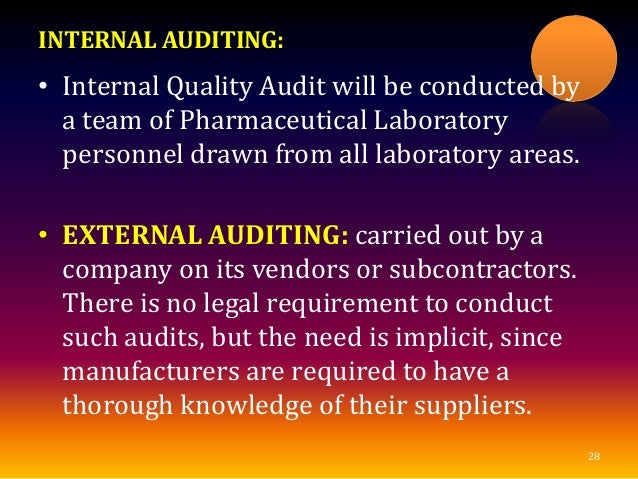 audit review of documentation