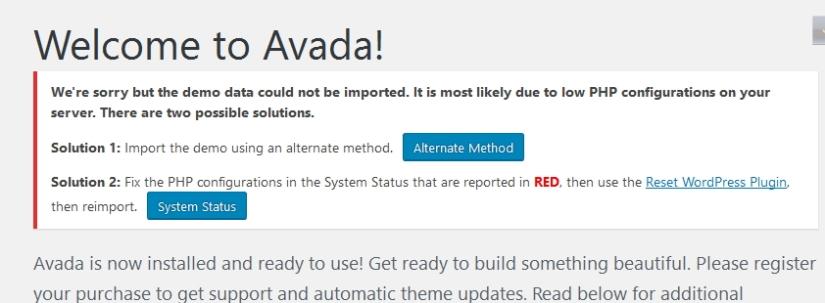avada theme shortcodes documentation