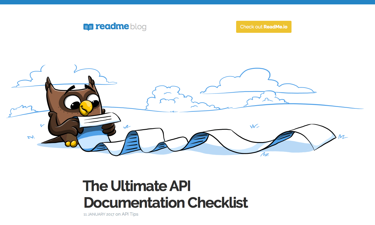 what is api documentation