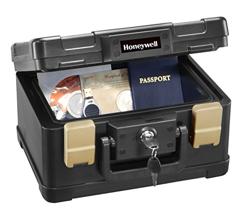 honeywell fire safe document box with dial