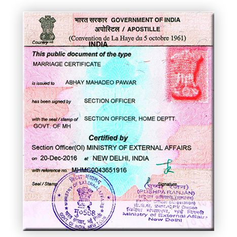how to get document attested indian embassy