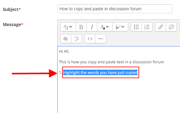 how do you paste a document using the keyboard