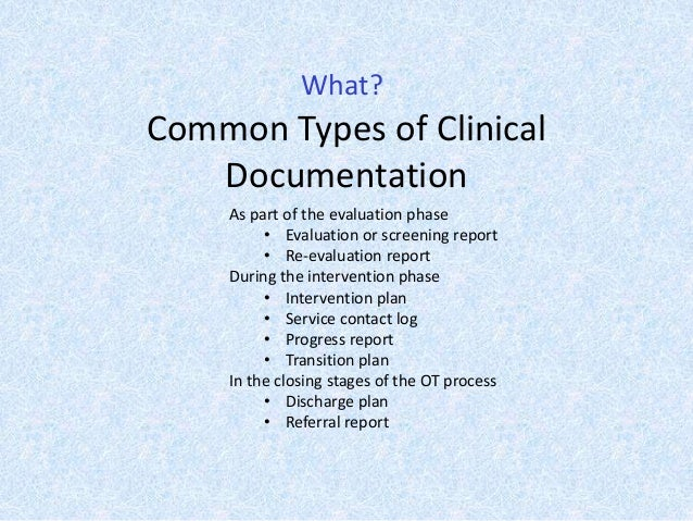 importance of documentation in healthcare