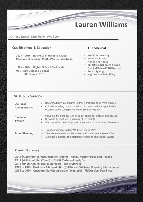 latest cv templates free download word document