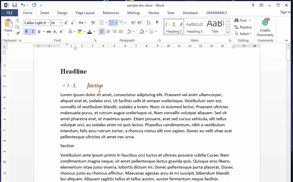 how to see what formatting in word document
