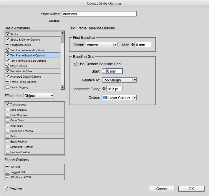 indesign change document to millimeters