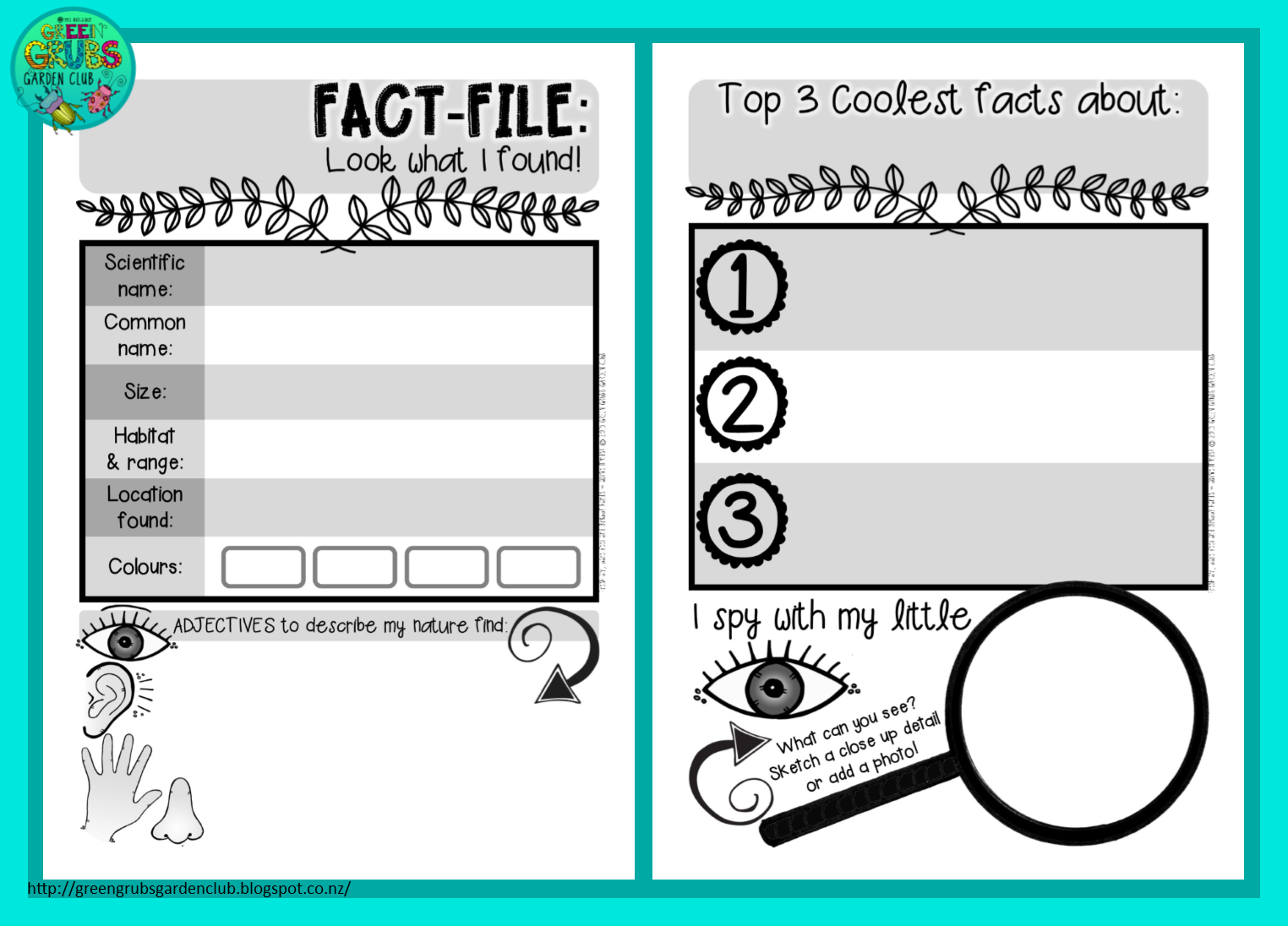 fact table documentation template