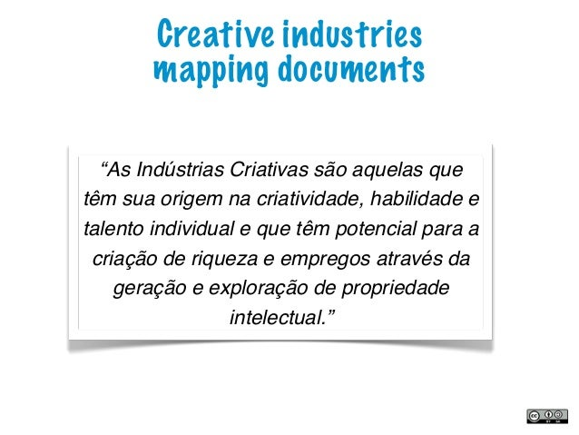 creative industries mapping document 1998