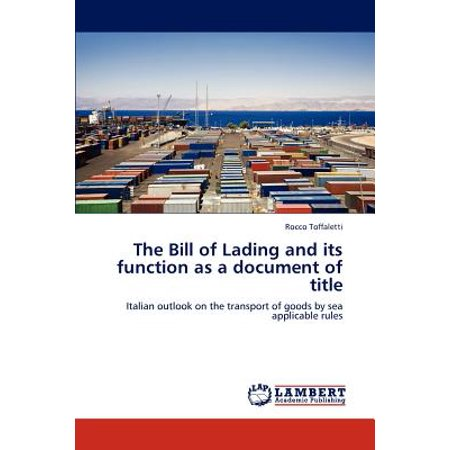 bill of lading document of title