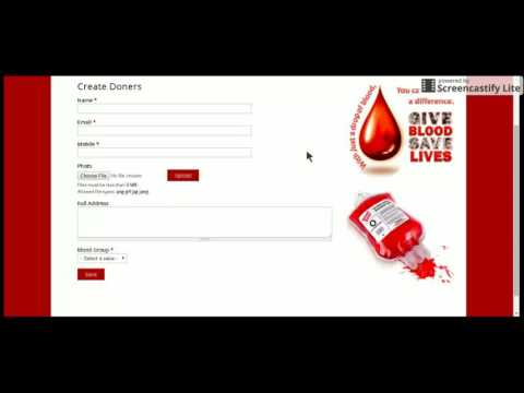blood bank management system project documentation in asp.net