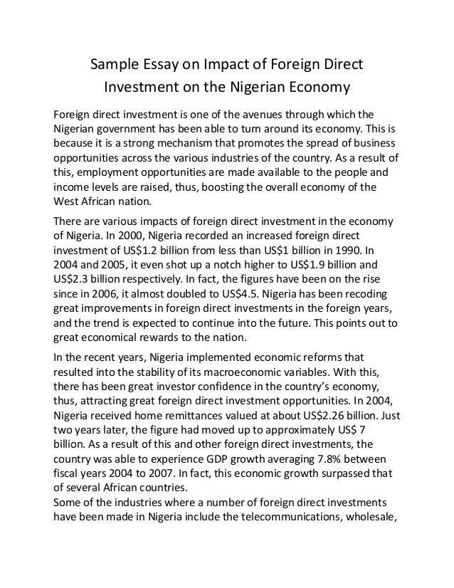 investment policy statement sample document