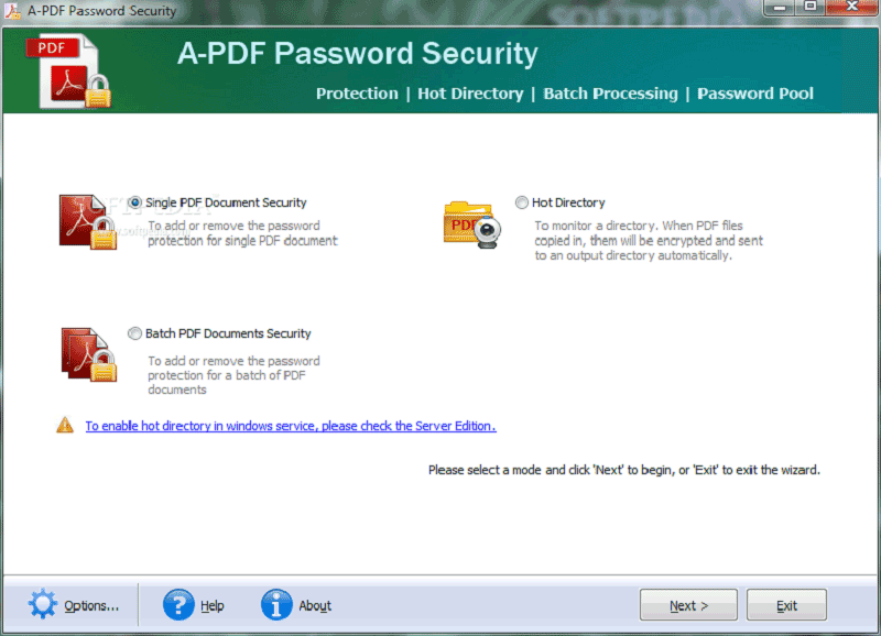 pdf document security password removal