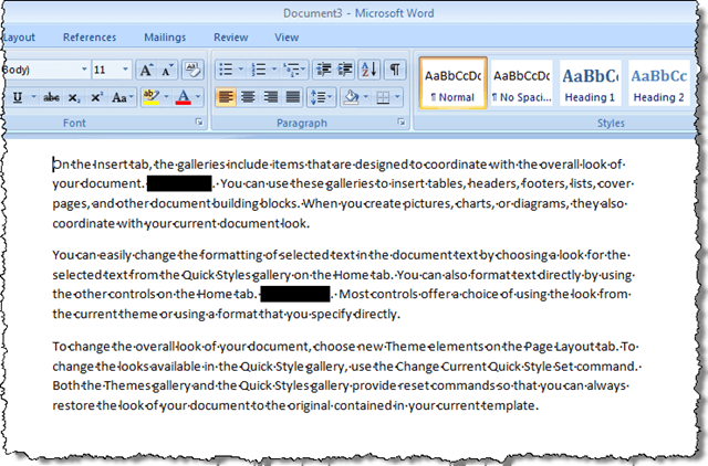 how to unprotect a word document 2007