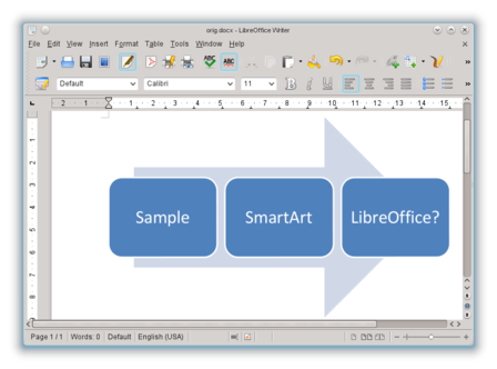 libre office how tocompress images in a writer document