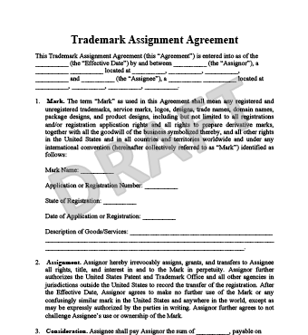 how to use trademark symbol in a document