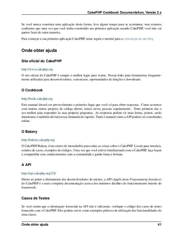 cakephp 2.8 documentation