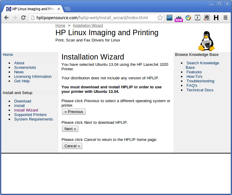 can hp documentation be uninstalled