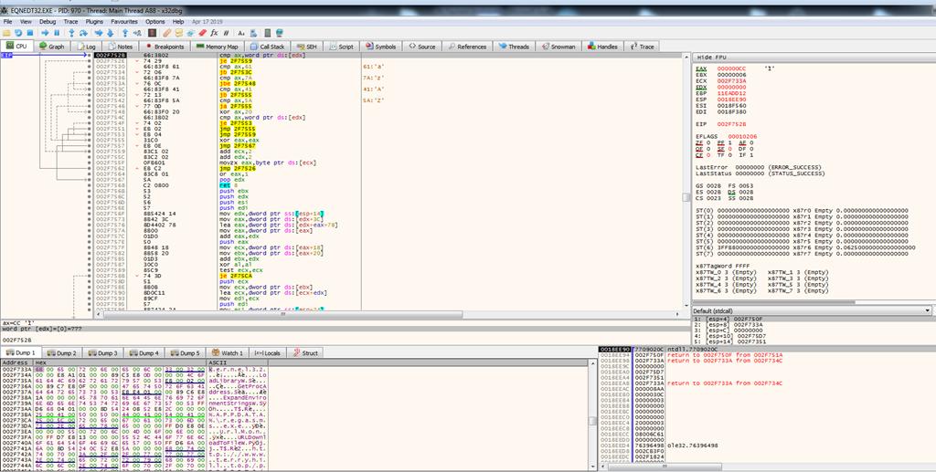 word document equation editor shortcut