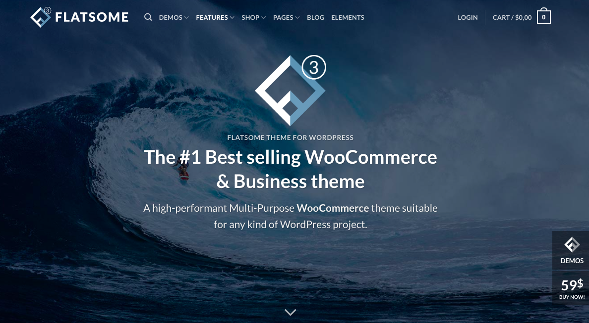 flatsome wordpress theme documentation
