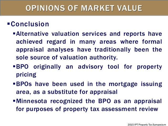 6 source document used market appraisal