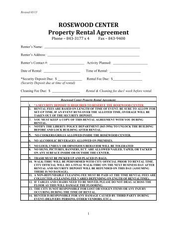 centre link rent certificate document
