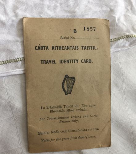 certificate of identity travel document uk