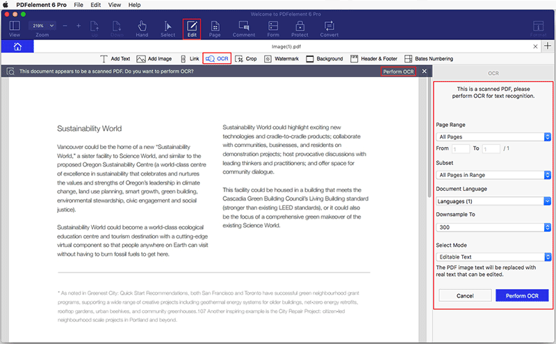 combine pdf into one document mac